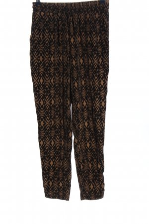 Forever 21 Baggy Pants black-brown allover print casual look