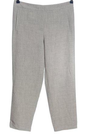 Forever 21 Pantalón abombado gris claro moteado estilo «business»