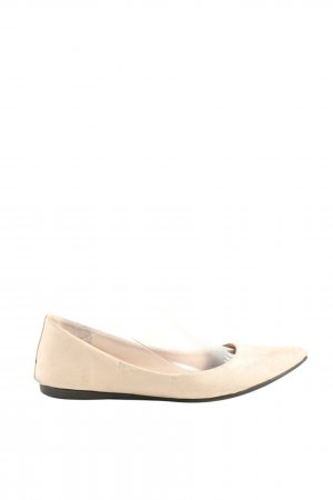 Forever 21 Ballerinas mit Spitze creme Casual-Look