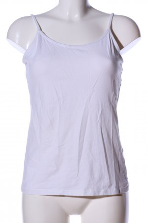 Forever 21 Basic Top weiß Casual-Look