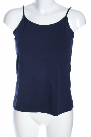Forever 21 Basic Top blau Casual-Look