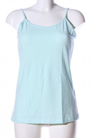 Forever 21 Basic Top turquoise casual look