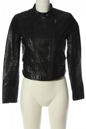 Forever 21 Biker Jacket black casual look