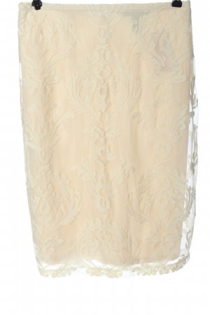 Forever 21 Pencil Skirt cream allover print casual look