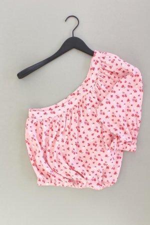 forever 21 Bluse Größe M 3/4 Ärmel pink aus Kunstseide