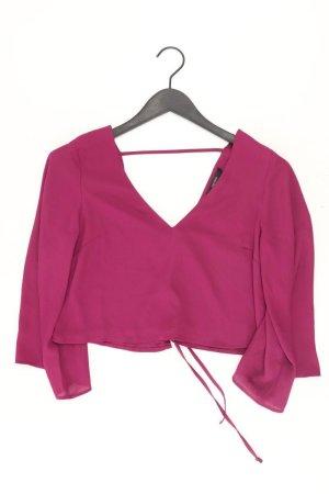 forever 21 Bluse Größe S 3/4 Ärmel lila aus Polyester