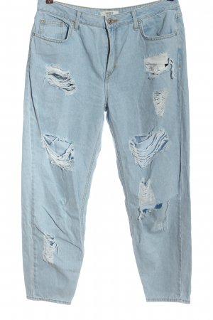 Forever 21 Jeans boyfriend blu stile casual