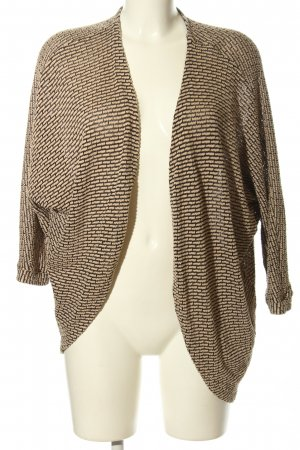 Forever 21 Cardigan braun-nude Allover-Druck Casual-Look