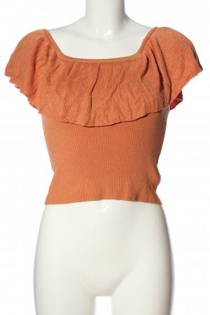 Forever 21 Carmen-Bluse braun Casual-Look