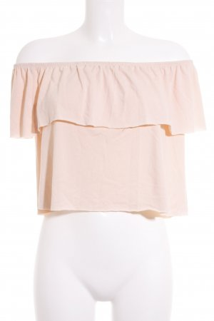 Forever 21 Carmen-Bluse apricot Casual-Look