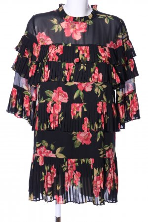 Forever 21 Chiffon Dress flower pattern elegant
