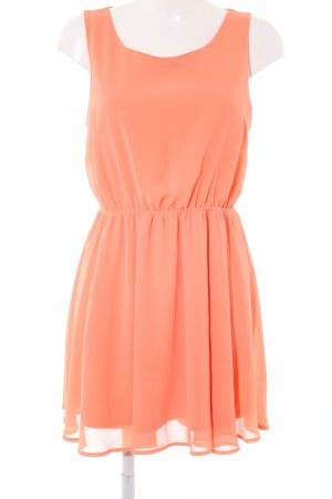 Forever 21 Chiffonkleid hellorange Casual-Look