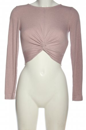 Forever 21 Cropped Shirt pink casual look