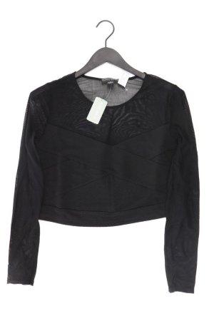 Forever 21 Cropped Shirt black polyamide