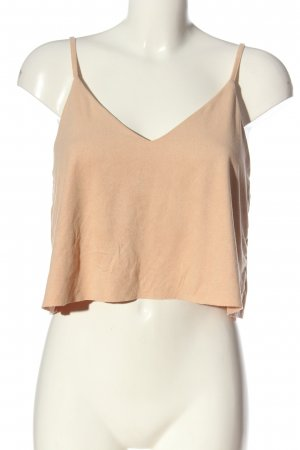 Forever 21 Crop-top rose chair style décontracté