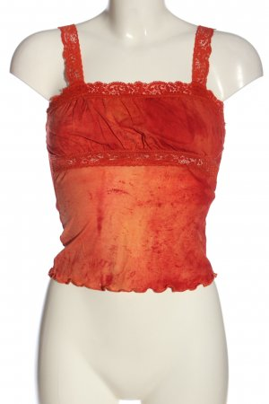 Forever 21 Cropped Top rot-hellorange Casual-Look
