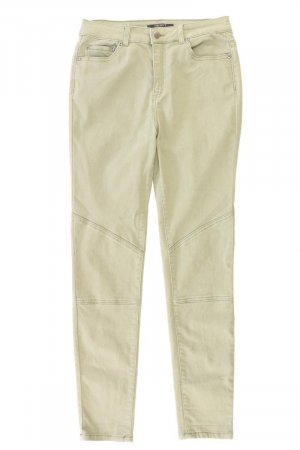 Forever 21 Five-Pocket Trousers olive green cotton