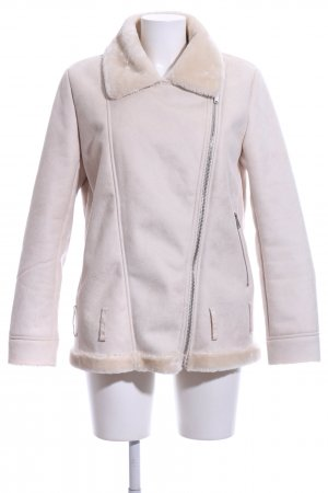 Forever 21 Flight Jacket natural white casual look