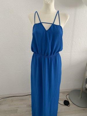 Forever 21 gr L Maxikleid Blau petrol