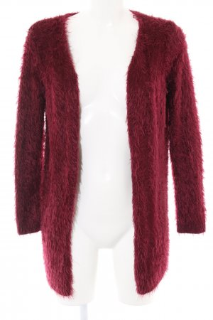 Forever 21 Coarse Knitted Jacket red casual look