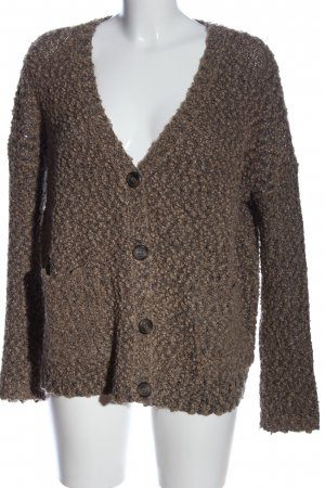 Forever 21 Coarse Knitted Sweater brown casual look