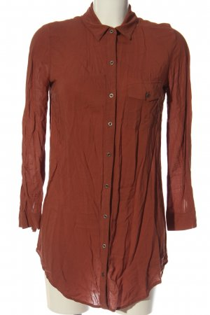Forever 21 Hemd-Bluse rot Business-Look