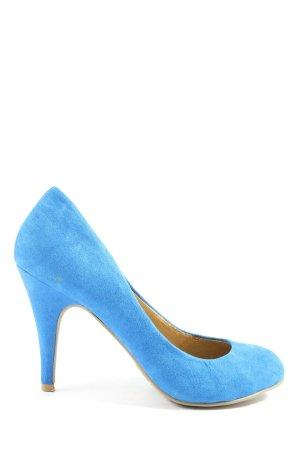 Forever 21 High Heels blau Casual-Look