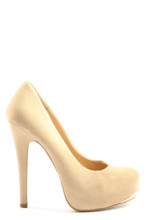 Forever 21 High Heels creme Casual-Look