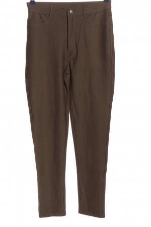 Forever 21 High Waist Trousers brown casual look