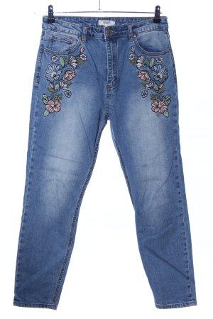 Forever 21 High Waist Jeans blau Casual-Look