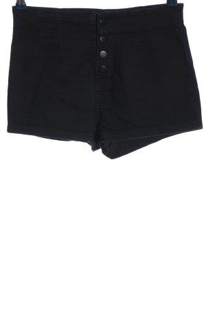 Forever 21 High waist short zwart casual uitstraling