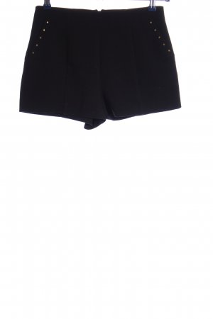 Forever 21 High-Waist-Shorts schwarz Casual-Look