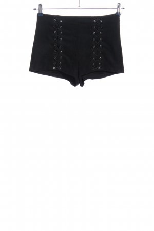 Forever 21 High-Waist-Shorts black casual look