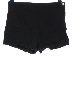 Forever 21 High-Waist-Shorts schwarz Casual-Look
