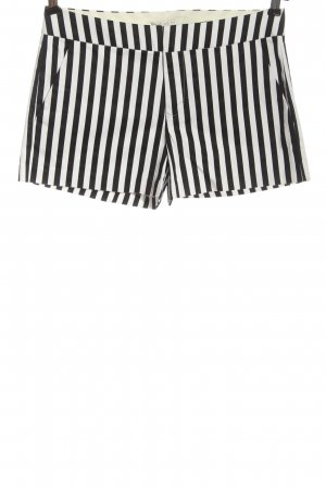 Forever 21 Hot Pants schwarz-weiß Allover-Druck Casual-Look