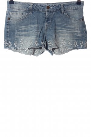 Forever 21 Hot Pants blau Casual-Look