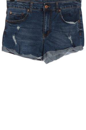 Forever 21 Hot Pants blau Casual-Look