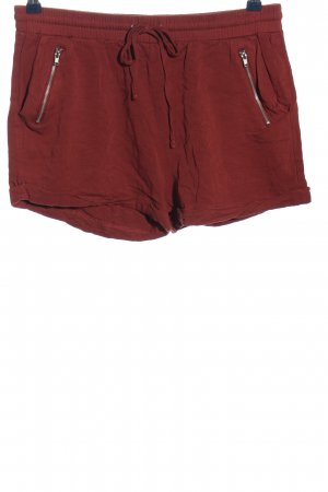 Forever 21 Hot Pants rot Casual-Look
