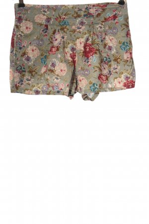 Forever 21 Hot Pants flower pattern casual look