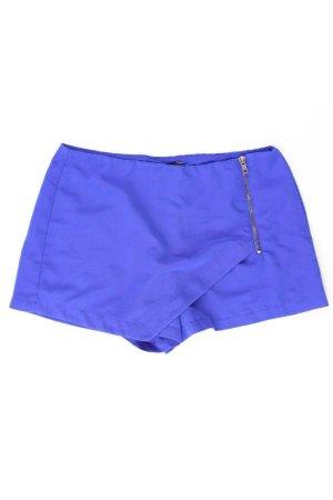 Forever 21 Shorts blue-neon blue-dark blue-azure polyester