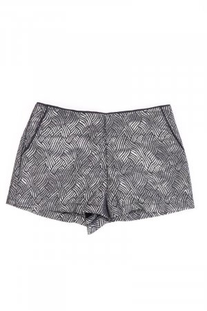 Forever 21 Shorts silver-colored polyester