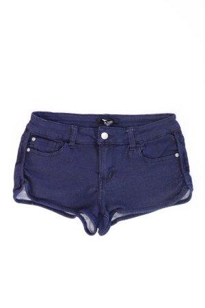 Forever 21 Shorts blue-neon blue-dark blue-azure cotton