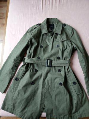 Forever 21 Pelt Jacket green grey