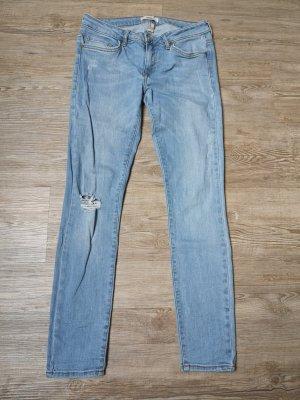 Forever 21 Jeans 26 S Ankle skinny hellblau blau