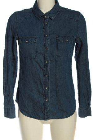 Forever 21 Jeansowa koszula niebieski W stylu casual