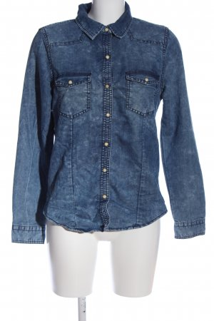 Forever 21 Jeanshemd blau Casual-Look