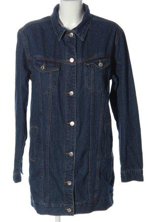Forever 21 Jeansowa kurtka niebieski W stylu casual