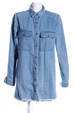 Forever 21 Denim Dress blue casual look