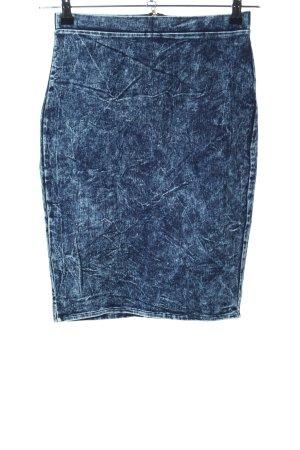 Forever 21 Denim Skirt blue flecked casual look