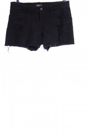 Forever 21 Jeansshorts schwarz Casual-Look